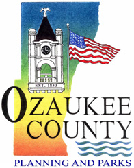 ozaukee county parks and planning logo