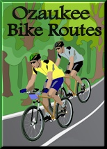 Ozaukee Bike Route Logo