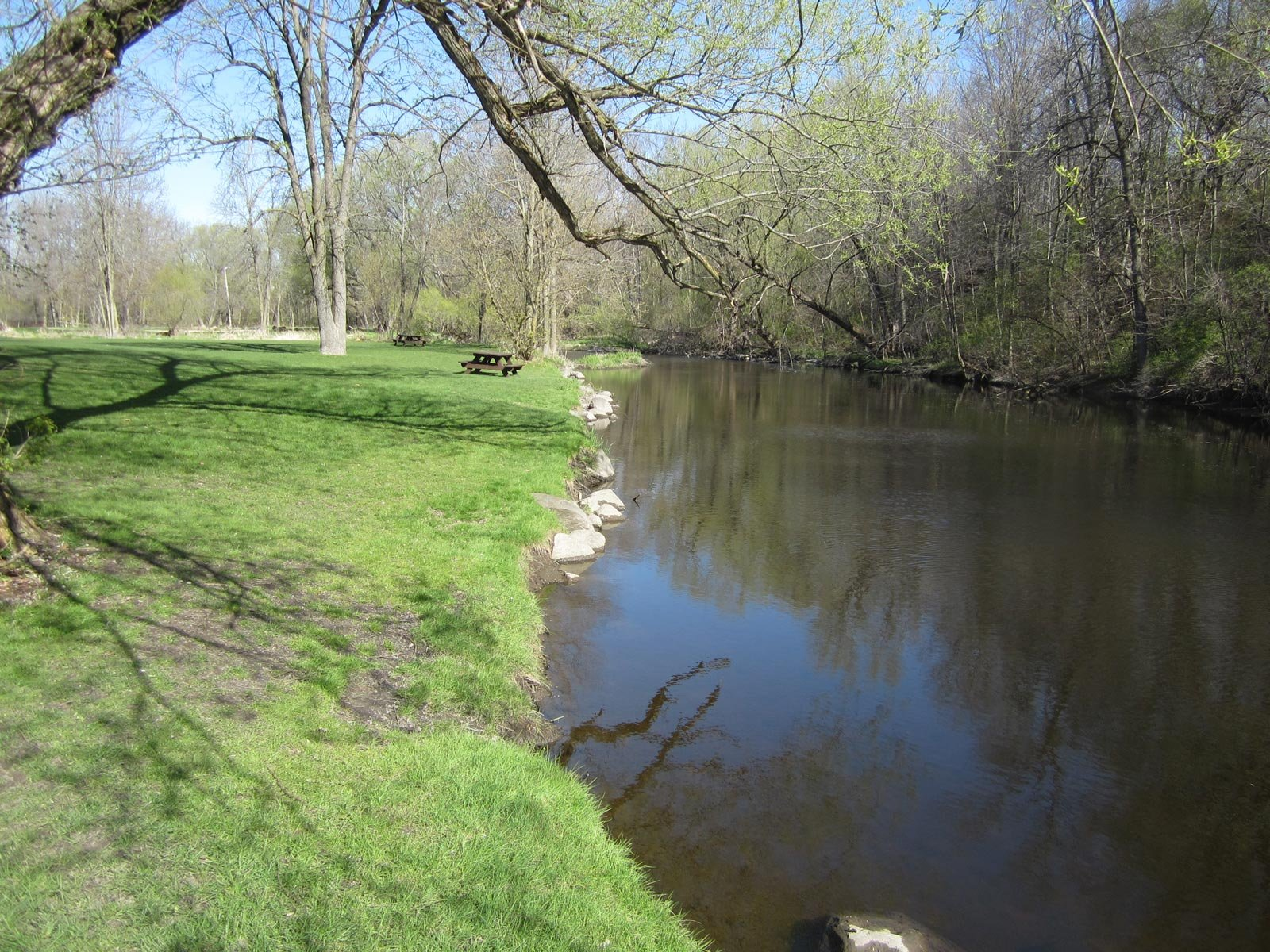 Route c 4 covered bridge park to cedar creek road for Cedar creek